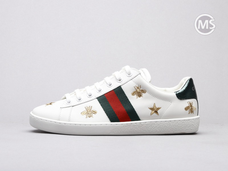 Gucci Ace Bee And Stars Sneaker