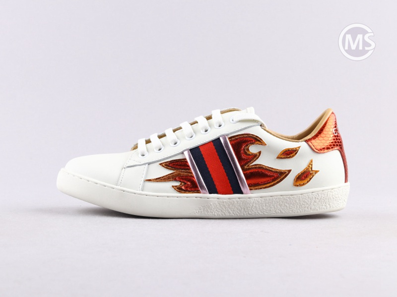 Gucci Ace Specail Fire Red Sneaker