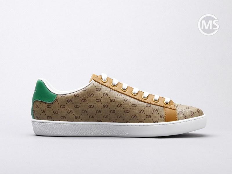 Disney x Gucci ACE Brown Sneaker