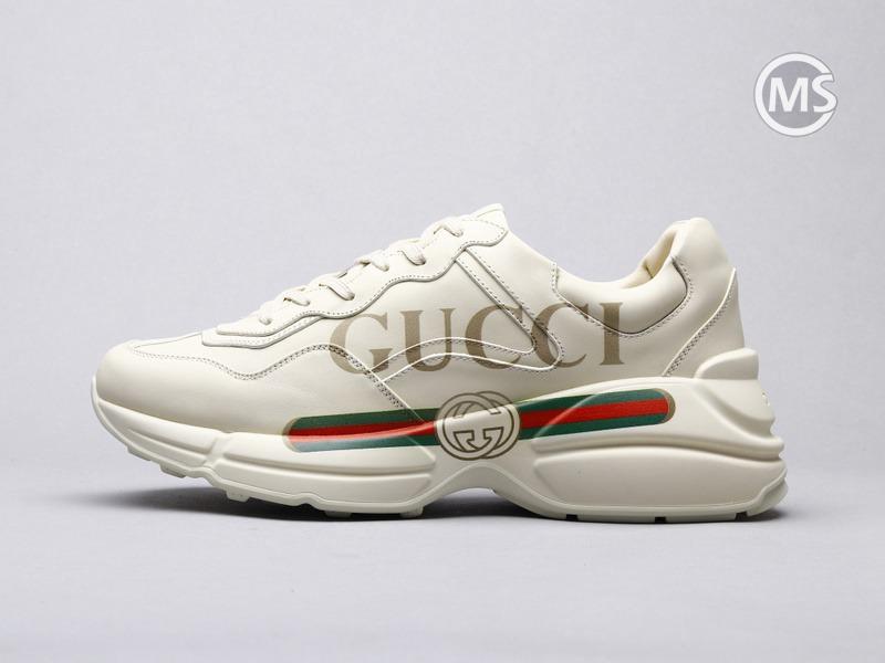 Gucci Rhyton Ivory Vintage logo