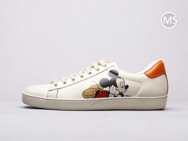 Disney x Gucci Ace Ivory Sneaker