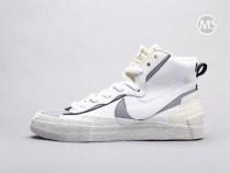 Sacai X Nike Blazer Mid White Grey