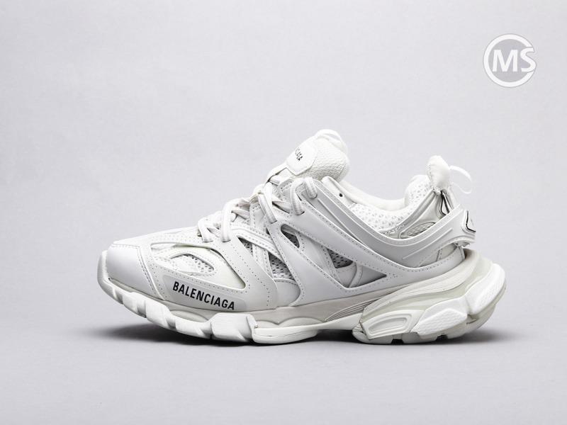Balenciaga Track Trainers White