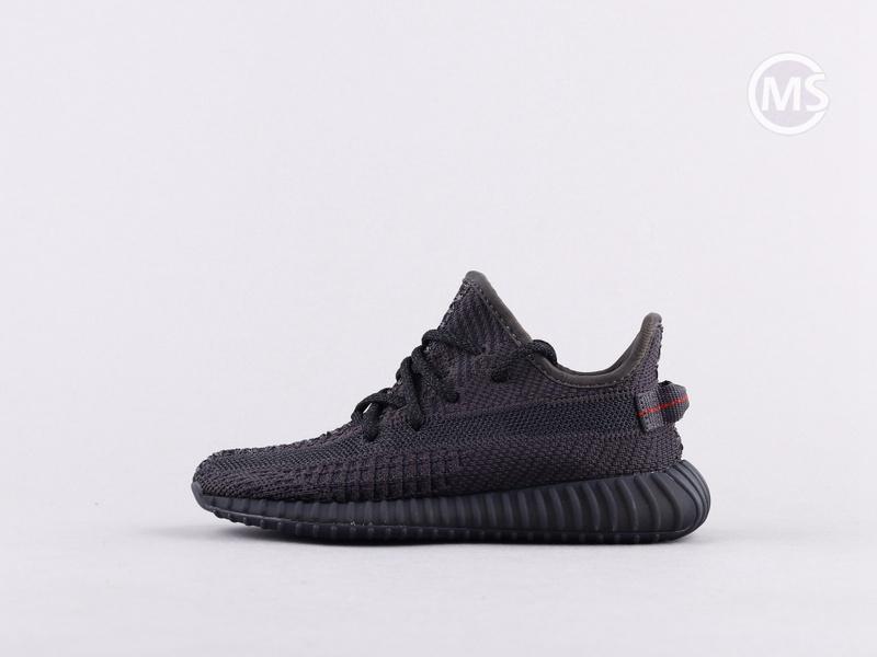 Kids Yeezy 350 V2 Static Black