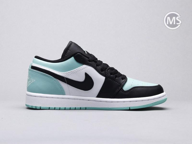 Air Jordan Retro 1 Low Emerald Toe