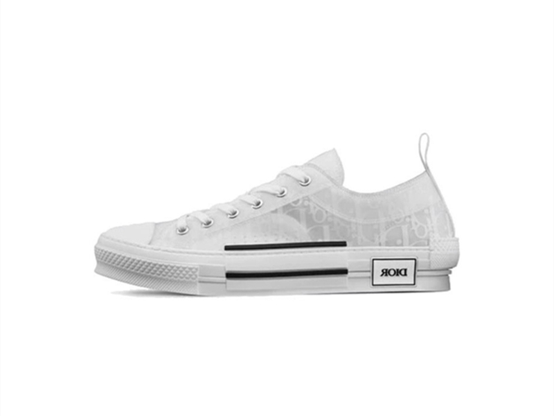 Dior B23 Low Top White Oblique
