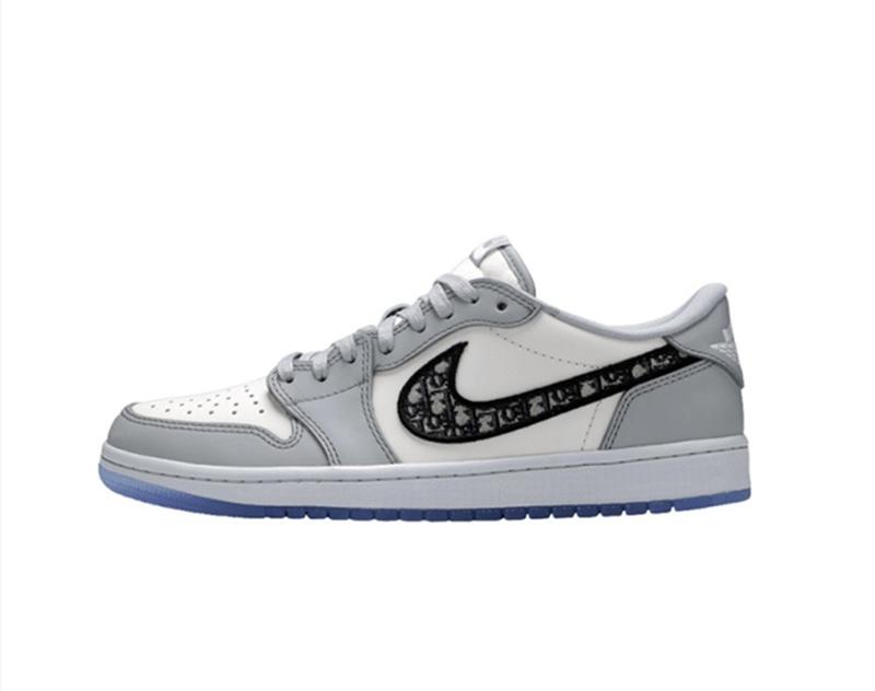 Dior x Air Jordan 1 Low Top Sneaker