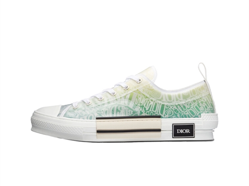 Dior and Shawn B23 Low Top Yellow
