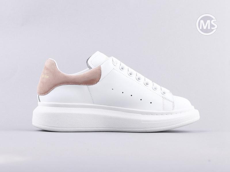 Alexander Mcqueen Oversized White Pink