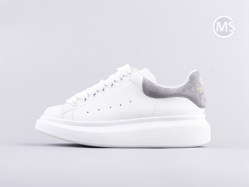 Alexander Mcqueen Oversized White Grey