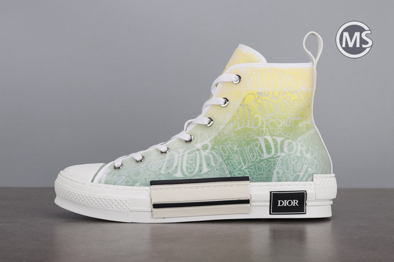 Dior and Shawn B23 High Top Yellow