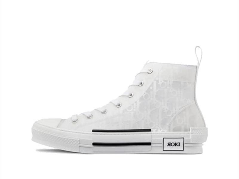 Dior B23 High Top White Oblique
