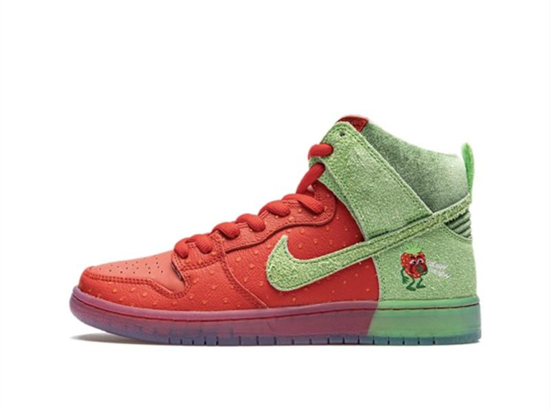 Nike SB Dunk High Strawberry Cough
