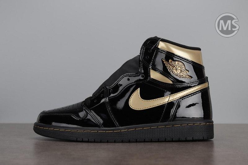 Air Jordan 1 High OG Black Gold