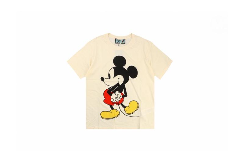 Disney x Gucci Oversized T-shirts White