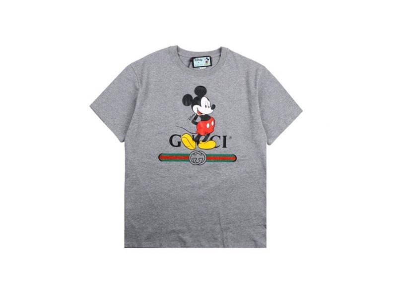 Disney x Gucci Oversized T-shirts Grey