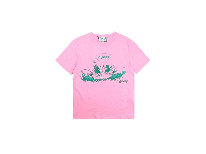 Disney x Gucci Oversized T-shirts Pink