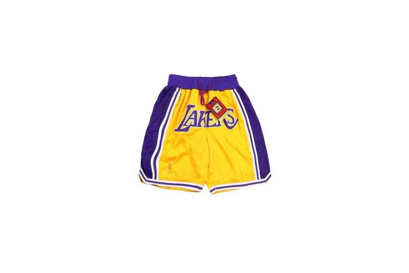 Just Don Los Angeles Lakers NBA Shorts