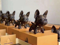 Louis Vuitton French Bulldog Keychain