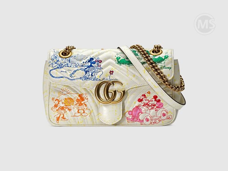Disney x Gucci GG Marmont shoulder bag