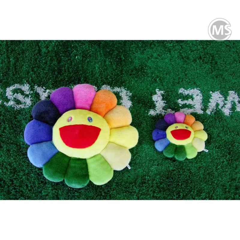 Takashi Murakami Flower Plush 60cm/30cm set