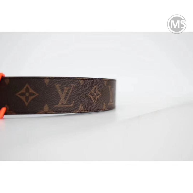 Louis Vuitton Initiales 40mm Belt orange