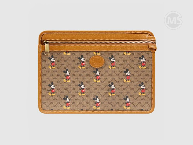 Disney x Gucci pouch Mickey Mouse