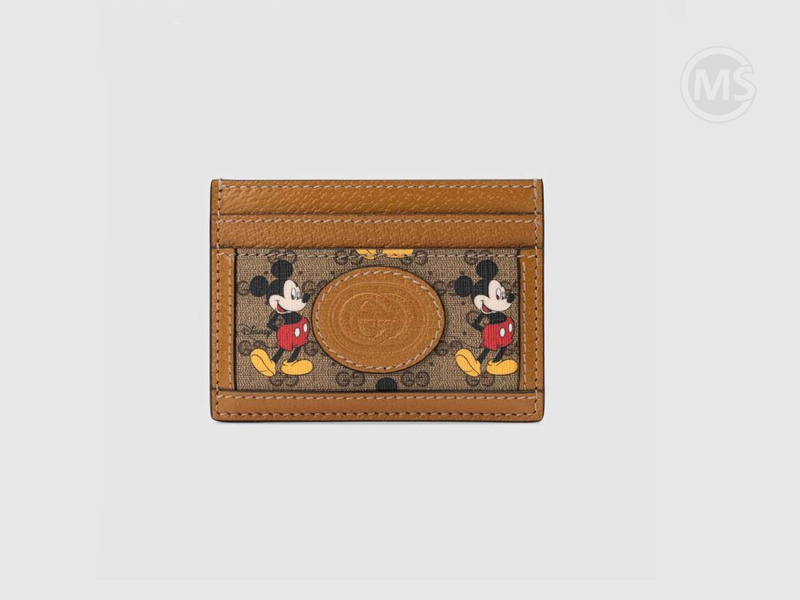 Disney x Gucci card case Mickey Mouse