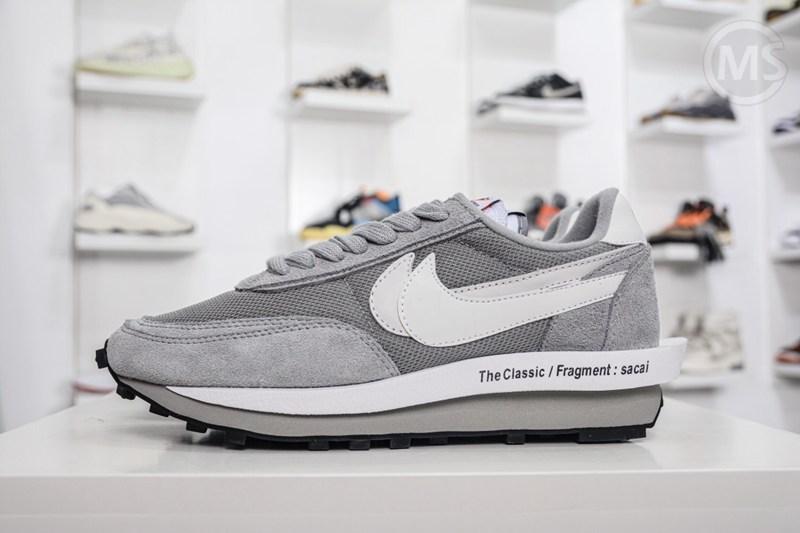 Fragment x Sacai x Nike Waffle Grey
