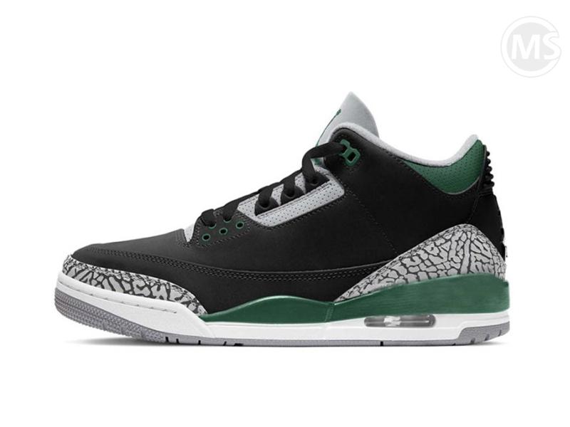 Air Jordan 3 Retro Pine Green