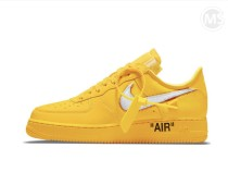 OFF-WHITE x Air Force 1 University Gold