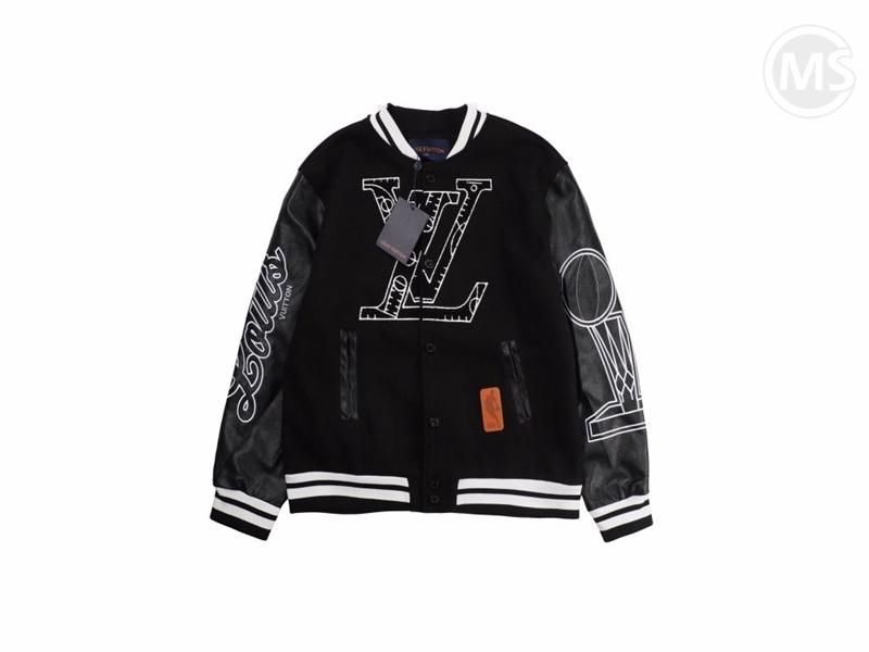 LV x NBA Leather Basketball Jacket