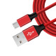 1M Braided Micro USB Data Cable For Mobile Phone USB Chargering Cable