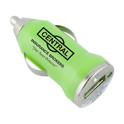 Bullet Shape USB Auto Adapter