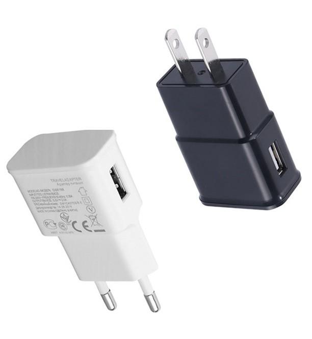 Wall Charger EU US Plug 5V 1A USB Wall Charger For Smart phones WC378