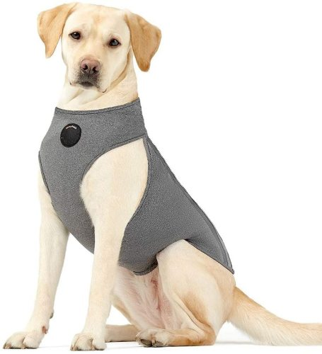 Dog Thunder Jacket Anxiety Calming Vest with Most Torso Coverage