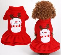 Dog Christmas Clothes Dress