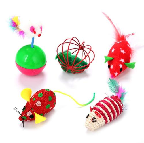 Christmas Cat Toy Collection
