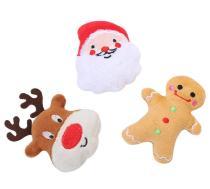 Cat Christmas plush Toy