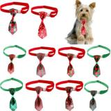 Wholesale Pet Dog Christmas Collar and Necktie