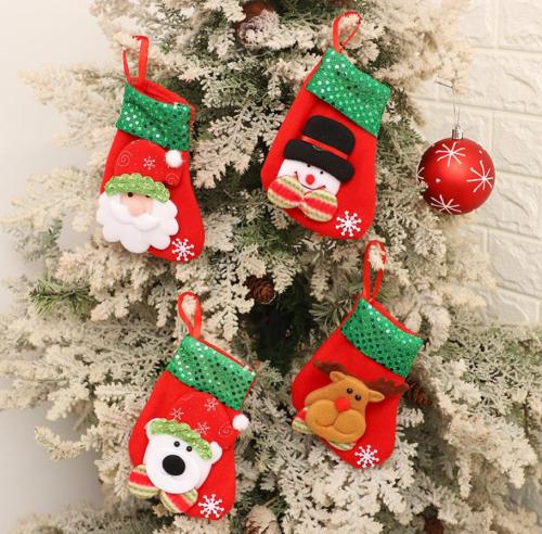 Wholesale  Christmas Tree Decoration Socks