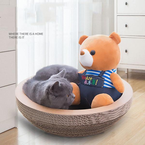 Wholesale  custom design corrugated cat scratcher
