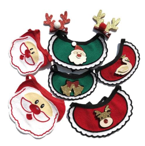 Wholesale  Christams pet dog cat bandana