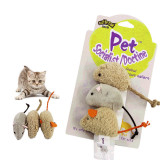 Wholesale  Custom Card Packing Available Cat Mouse Toy