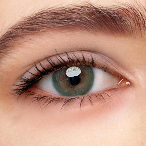 Iris Green Prescription Yearly Colored Contacts