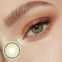 Premium Green Prescription Yearly Colored Contacts
