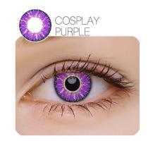 Vicka Cosplay Purple Yearly Colored Contacts