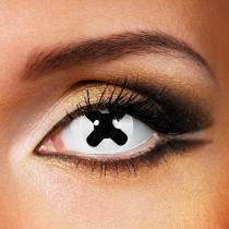 Black Cross Yearly Colored Contacts