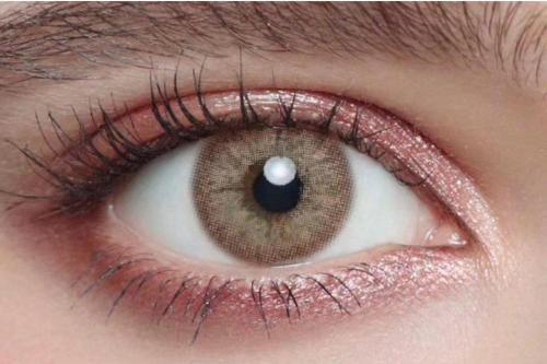 Original Holland Brown Prescription Yearly Colored Contacts