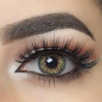 3-Tone Green Colored Contact Lenses